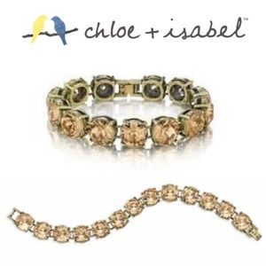 Chloe and Isabel Topaz Crystal Bracelet